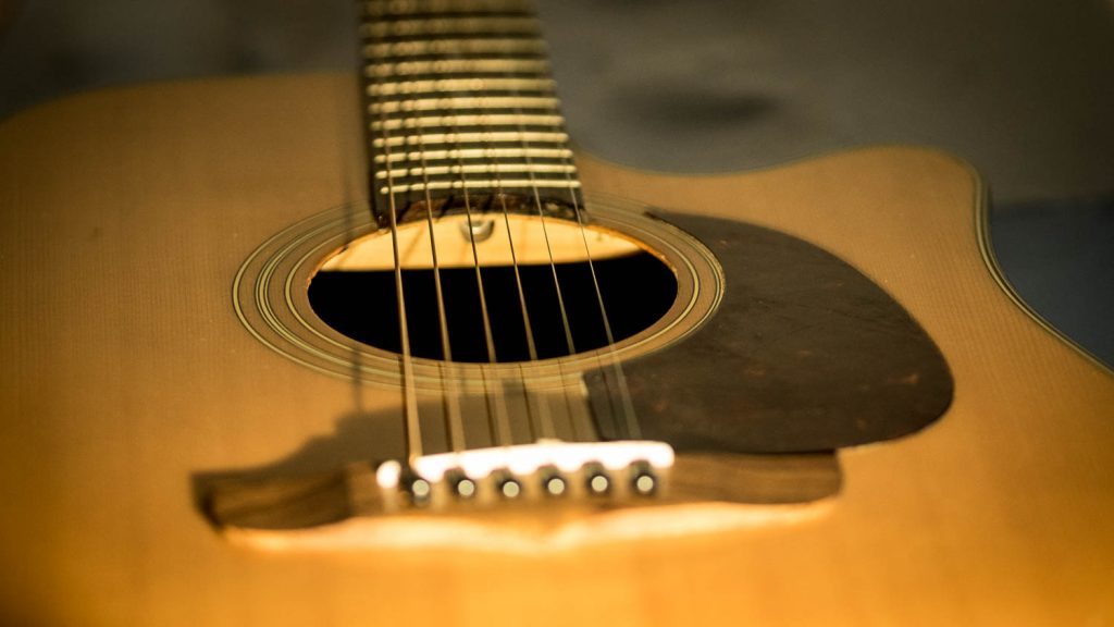 Gitarre 1 Klangkörper