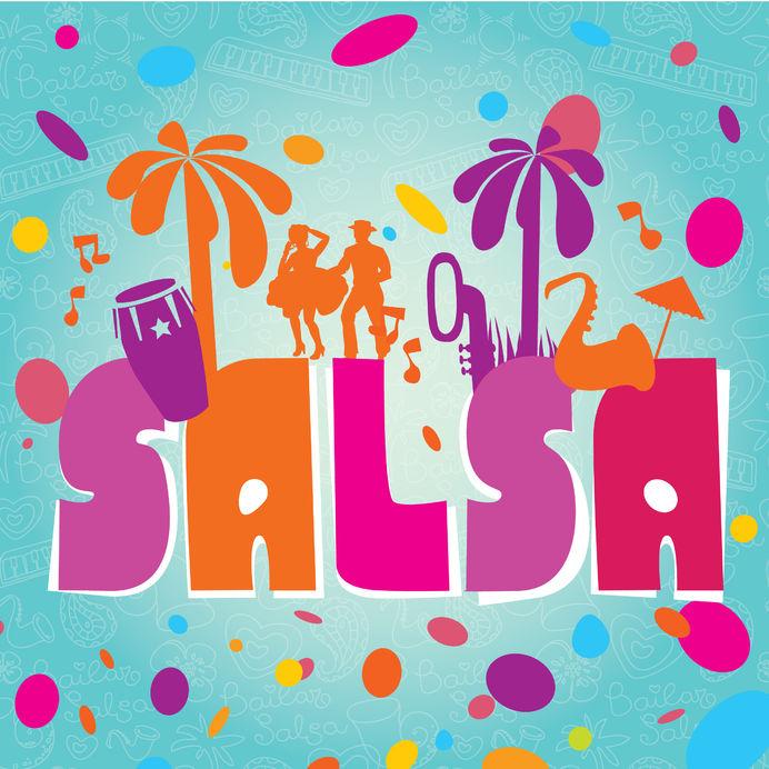 Salsa tanzen logo