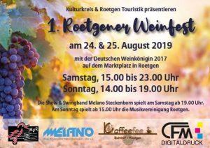 Weinfest Roetgen mit der Boedega @ Roetgen Marktplat